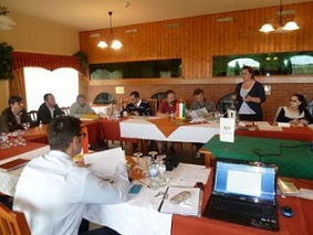 Workshop for cycling tourism in Vaskeresztes, Hungary  on the 22nd of May 2013