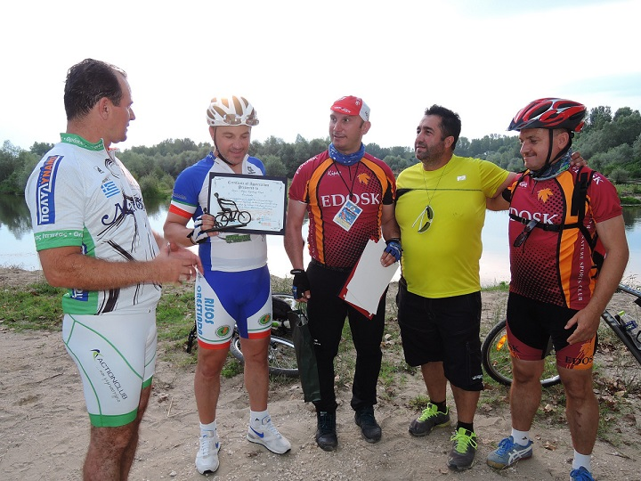 Successful implementation of the EuroVelo 13 cycling route events during Ardas Festival in Greece