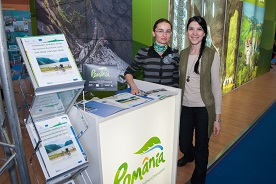 Iron Curtain Trail Project at the Romanian Tourism Fair (spring edition)