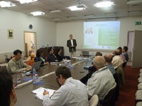Stakeholder forum of the ICT project in Pécs, Hungary on the 23rd of September, 2013