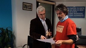 Meeting with the General Secretary of Public Works of Greece - Iron Curtain Trail and the EuroVelo network