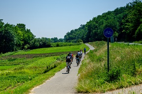 Study tour by bike and ferry in the Fertő region (in Hungary and Austria) – 17.06.2013