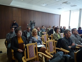 Iron Curtain Trail training in Lenti, Hungary