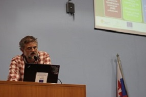 ICT project presented at the Bicycle Transport 2013 Conference in Zilina, Slovakia